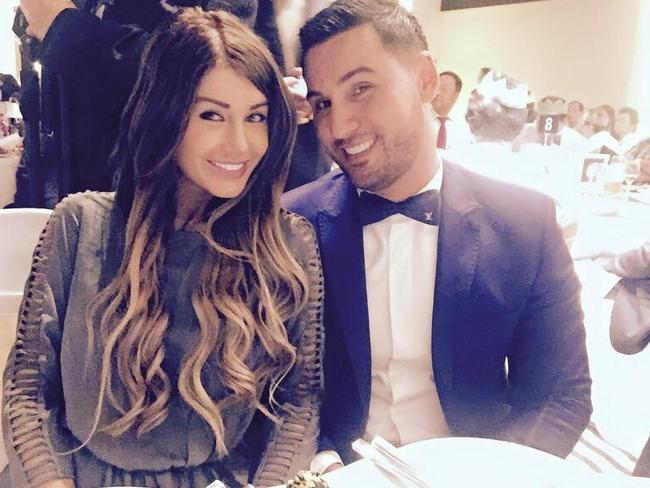 Mehajer and his wife Aysha in a photo posted on Facebook.