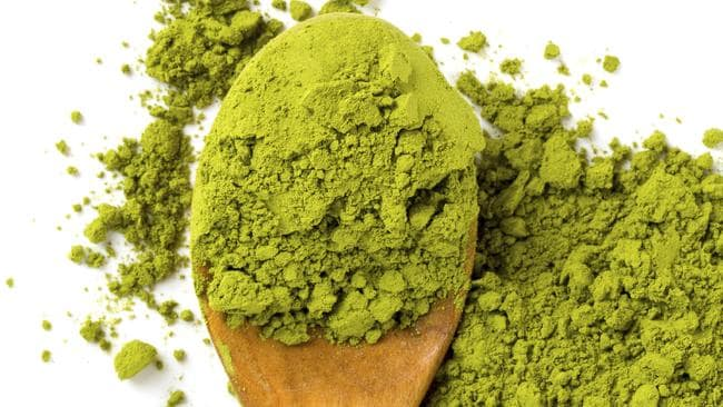 Matcha tea is a great option for after dinner.