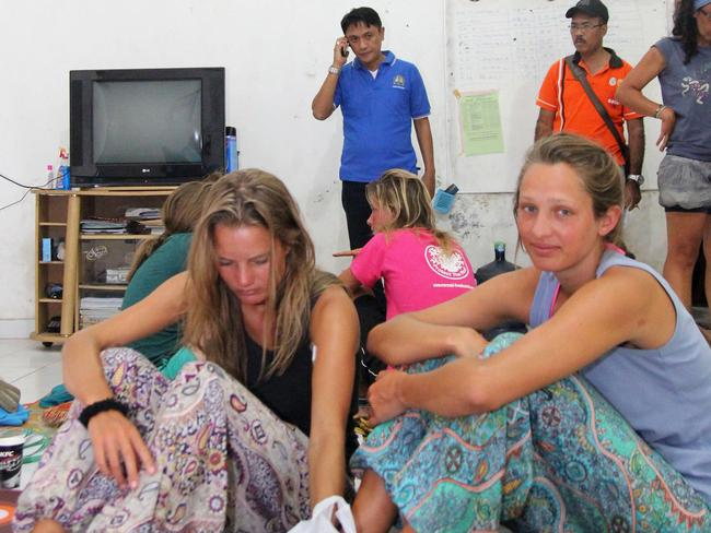 Survivors ... Those rescued were from New Zealand, Britain, Spain, the Netherlands, Germany and France, said Budiawan, a search and rescue official. Picture: AFP