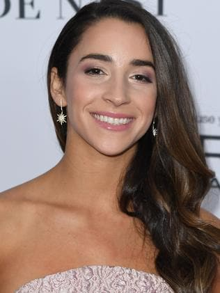 Aly Raisman detailed Nassar's abuse in her book. Picture: AFP