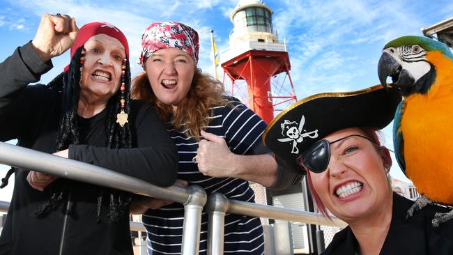 Pirates will take over Port Adelaide this weekend. Photo: AAP/Dean Martin