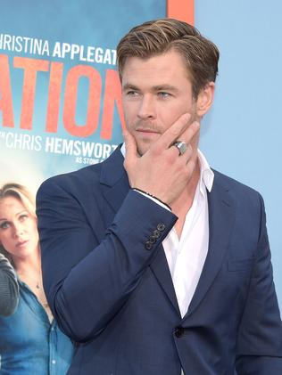 Chris Hemsworth comes in at number 15 despite being the highest paid Australian.