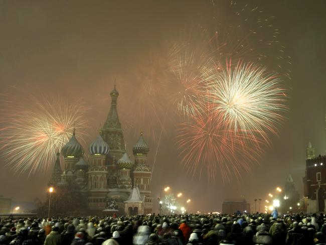 Red Square, Moscow, came in at number 3 on the list.