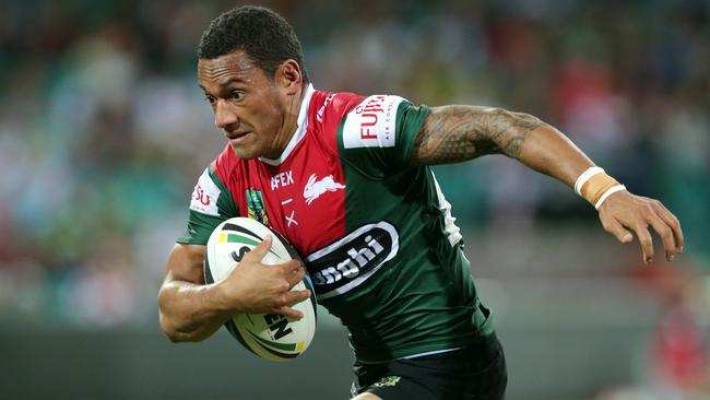 South Sydney's Apisai Koroisau in action.