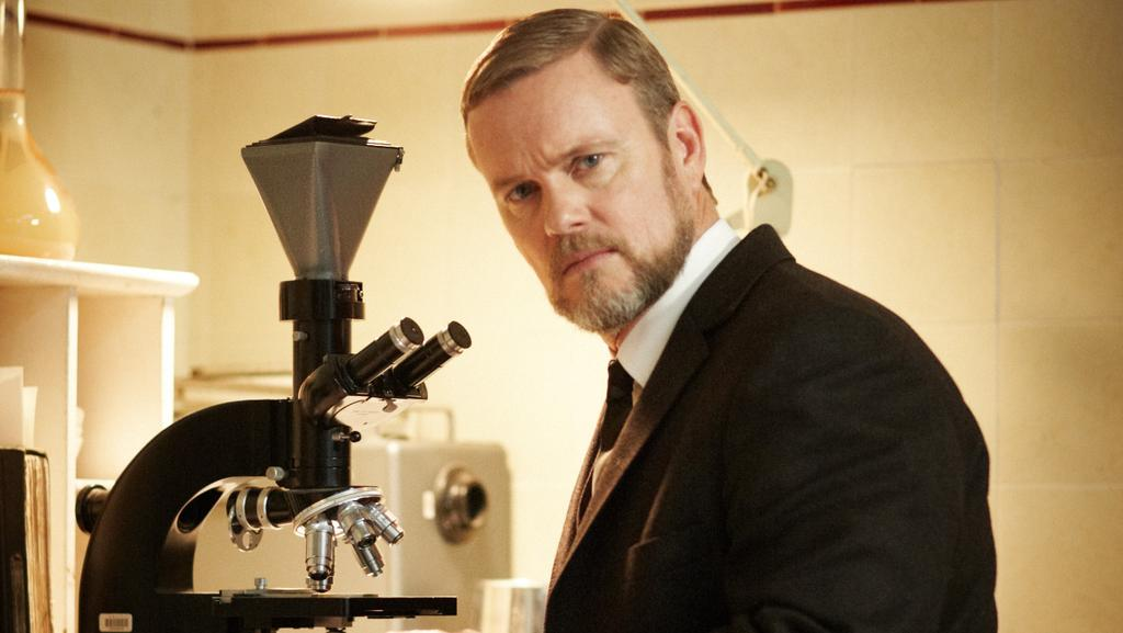 Craig McLachlan in The Doctor Blake Mysteries.