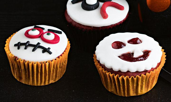 "16. Get Ghoulish  <p><a href=""http://www.kidspot.com.au/kitchen/recipes/ghoulish-cupcakes-4061"">Find the Ghoulish cupcakes recipe here.</a></p>"