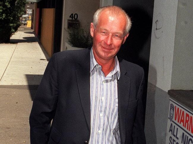 Questioned ... a 1996 file photo of disgraced former detective Roger Rogerson is being sought for questioning over the disappearance of Sydney University student Jamie Gao.