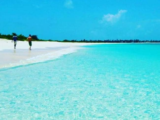 Barbuda island in the Caribbean made Conde Nast Traveller's list but now has been reduced to rubble after Hurricane Irma.