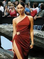 <p>US actress Megan Fox arrives for the German premiere of their movie 'Transformers: Revenge of the Fallen', in Berlin, Germany, June 14, 2009. AP Photo</p>