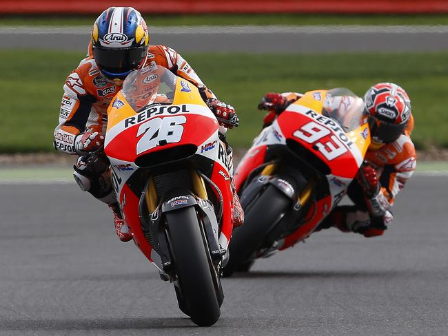 Will Pedrosa ever get the measure of Marquez?