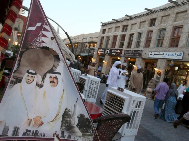Saudi Arabia, the UAE, Bahrain, Egypt, Yemen and the Maldives all announced they were cutting ties with gas-rich Qatar over accusations it supported extremism. Picture: Karim Jaafar/AFP