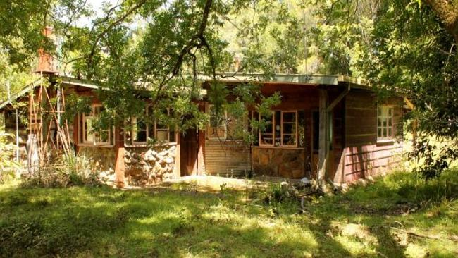 Ready for a little renovator TLC, this Kyogle cabin costs just $98,000 for a share in the 2ha estate.