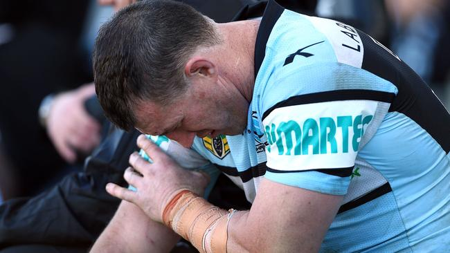 Paul Gallen's injury is a big concern for SuperCoaches. Pic: Renee McKay/Getty Images