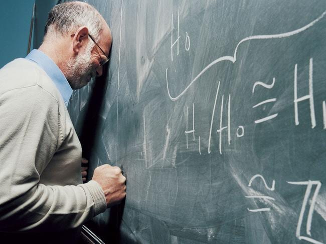 No matter how hard it gets, there's no excuse for the behaviour of some of these teachers. Picture: Thinkstock