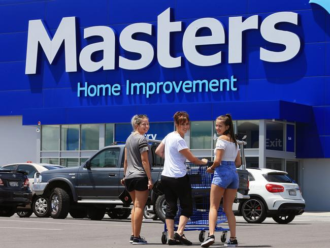 DIY disaster ... Woolworths is pulling the plug on Masters venture Picture: Toby Zerna