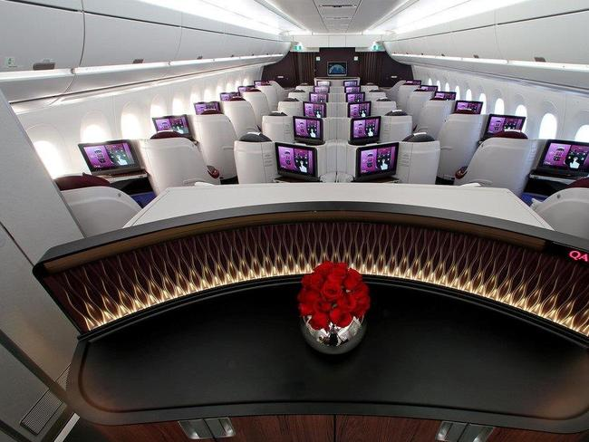 Qatar Airways Airbus A350 is set to unveil an even better business class. Picture supplied.