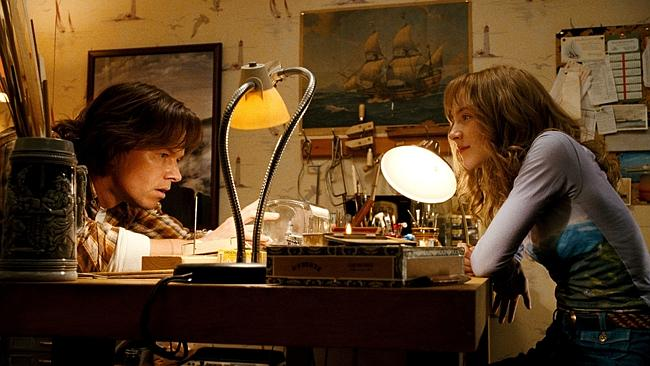 "Saoirse Ronan and Mark Wahlberg in ""The Lovely Bones""."