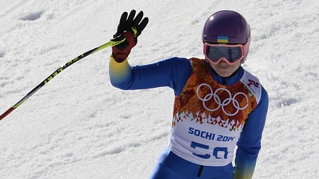 Out of here ... Ukraine's Bogdana Matsotska and her coach and father Oleg Matsotskiy have pulled out of the Sochi Games in protest at the authorities' deadly use of force against the protests in Kiev.
