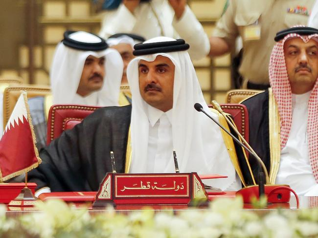 The Emir of Qatar, Sheikh Tamim bin Hamad al-Thani, said his nation was being punished for its independence. Picture: AFP