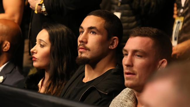 Australian UFC fighter Rob Whittaker pictured at UFC 217 held at Madison Square Garden in New York City.