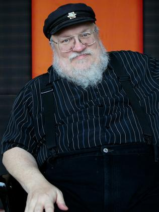Writer George. R.R. Martin. Picture: Cameron Richardson