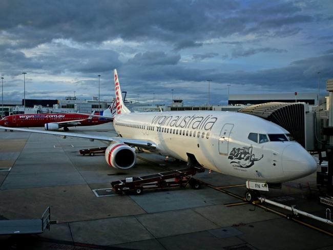 If you've ever wondered why some windows are missing from Virgin Australia planes, this is why. Picture: Stuart McEvoy