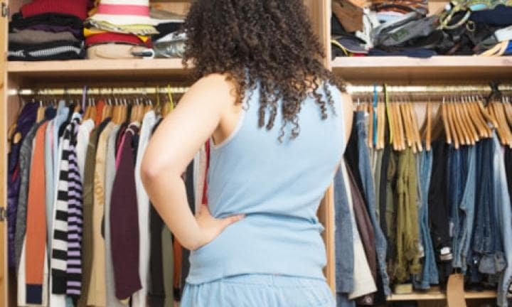 Cut clothing clutter: How to spring clean your wardrobe