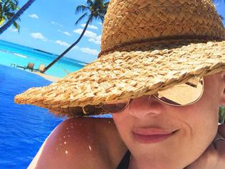 """#VacationMode. Leave a message at the beep ..."" Picture: Reese Witherspoon / Instagram"
