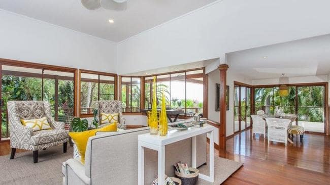 The home failed to sell at auction but Craft says there are a few interested parties to negotiate with. Picture: Byron Bay Property Sales