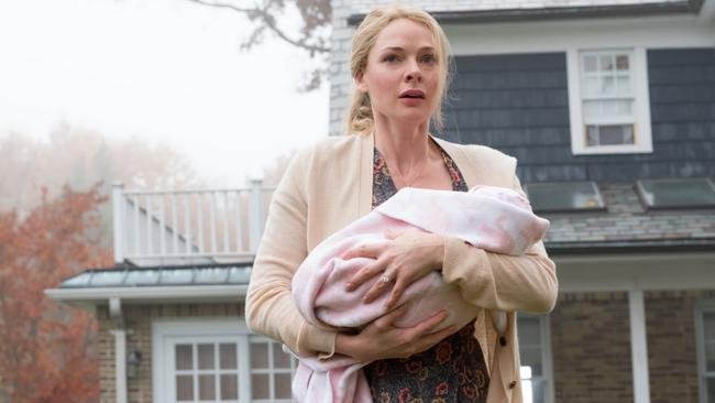Ferguson was the suspicious new wife Anna in last year's hit The Girl on the Train. Picture: Entertainment One