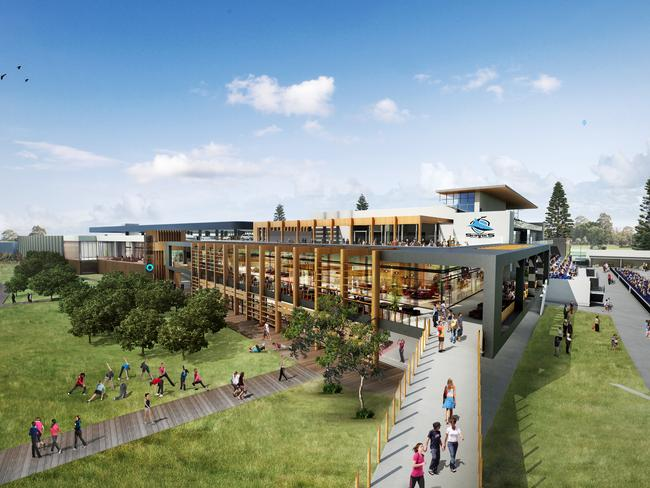 Artist's impression of Woolooware Bay, which is being developed by Bluestone.
