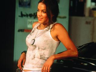 "Actor Michelle Rodriguez in scene from film ""The Fast and the Furious"" 02 Sep 2001. p/ /Films/Titles/The/Fast/And/The/Furious"