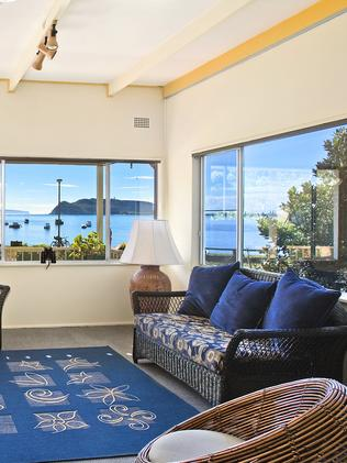 Expansive water views from 11 Monash Ave.