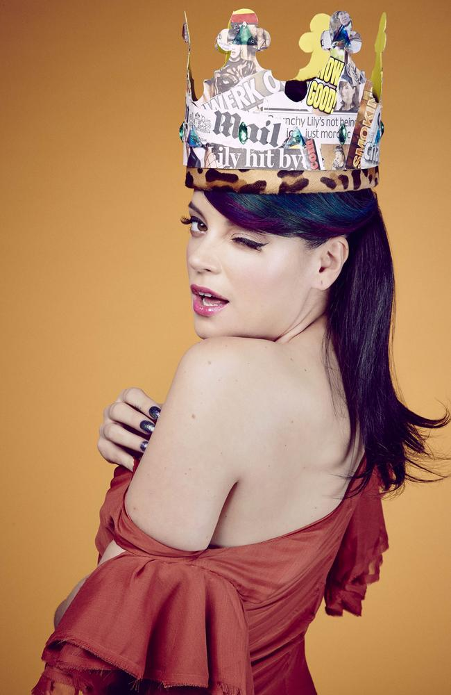 Impossible Princess ... Lily Allen will play at Splendour in the Grass.