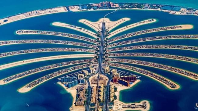 The Palm Islands of Duabi. Picture: Karim Nafatni