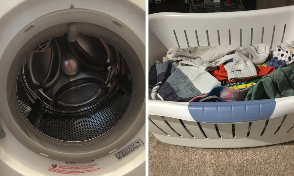 Mum discovers the disgusting reason her wet washing stinks