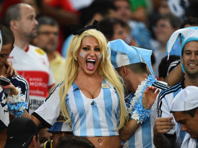 Our favourite fan from Argentina so far.