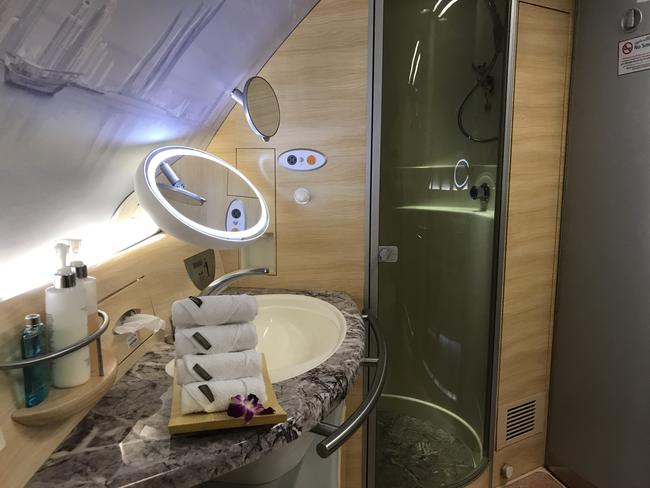 Emirates first class review how i used points to book - Emirates camera ...