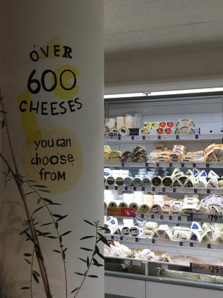 Harris Farm Farmers Bondi Junction is a cheese-lover's paradise. Picture: Jenifer Jagielski