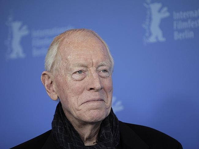 Experience ... Swedish actor Max Von Sydow has joined the new Star Wars movie. Picture: AP