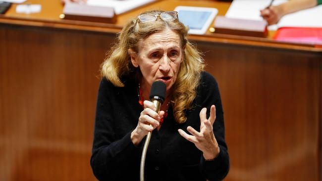 "French Justice Minister Nicole Belloubet said that setting the age of consent to 13 was ""worth considering"". Picture: Francois Guillot/AFP"