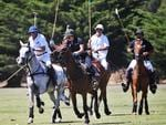Michell Payne Playing Polo