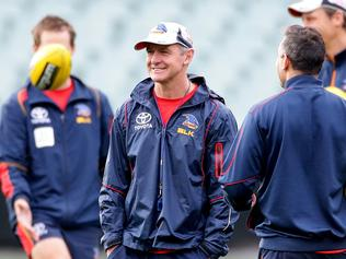 Crows training and coach Phil Walsh