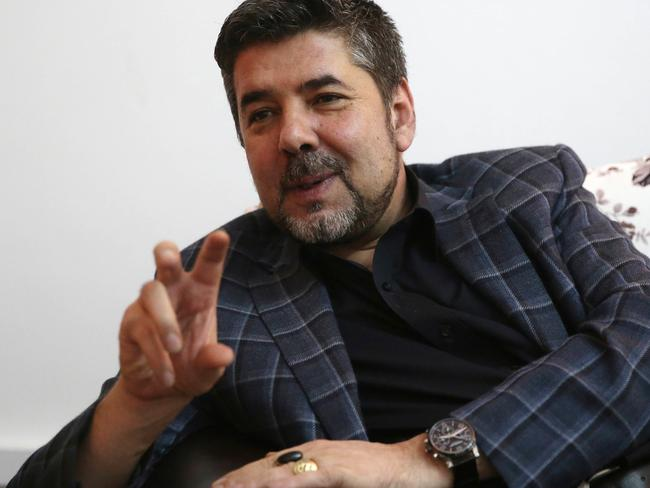 Rahmatullah Nabil, a former head of Afghanistan's secret service speaks during an interview with the Associated Press in Kabul, Afghanistan. Picture: AP