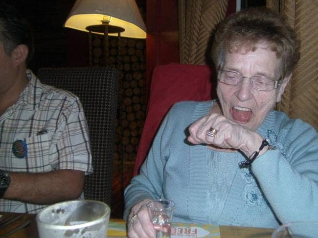Grandma doing shots ... not so appealing. Picture: CheapHolidayLand.com