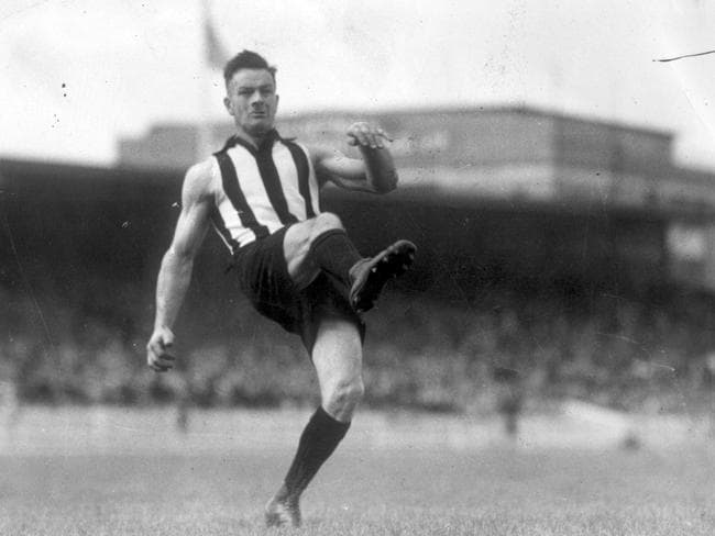 Collingwood's Gordon Coventry.