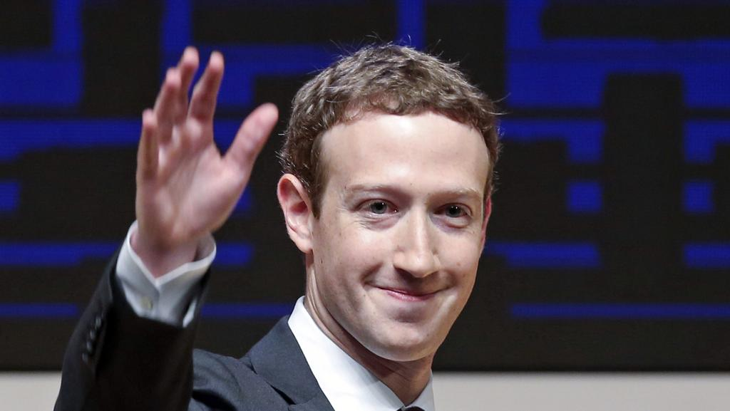 Mark Zuckerberg, chairman and CEO of Facebook, has released a missive outlining his vision for the social network and the world at large. Picture: AP/Esteban Felix
