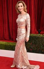 Actor Sharon Lawrence attends the 24th Annual Screen Actors Guild Awards at The Shrine Auditorium on January 21, 2018 in Los Angeles, California. Picture: Dimitrios Kambouris/Getty Images for Turner Image