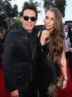 Former Mr JLo singer and musician Marc Anthony and TV personality Chloe Green attend the 56th GRAMMY Awards at Staples Center on January 26, 2014 in Los Angeles, California. (Photo by Christopher Polk/Getty Images for NARAS)