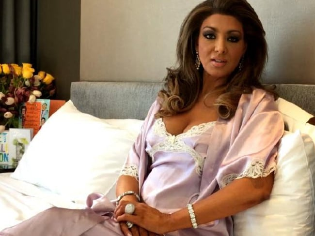 Gina Liano was admitted to hospital while filming Celebrity Apprentice.